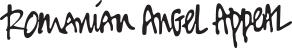Romanian Angel Appeal logo